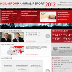 Annual report mol group